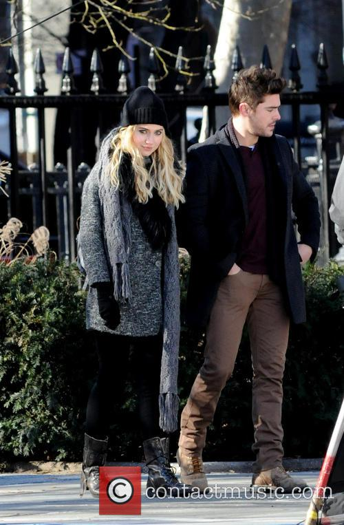 Imogen Poots and Zac Efron 5