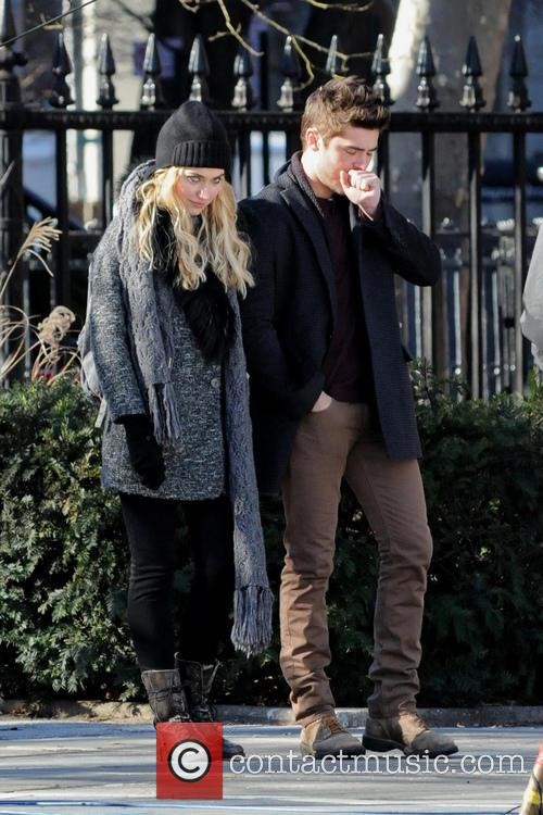 Imogen Poots and Zac Efron 7