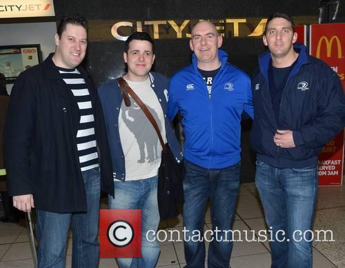 Graham Milne, David Duffy, Mcdara Rynn and Mark Fitzgerald 2