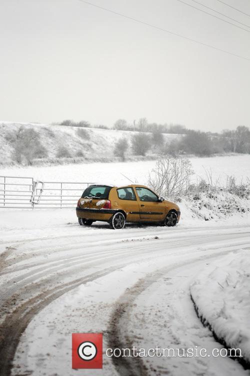 Snowy scenes across the UK