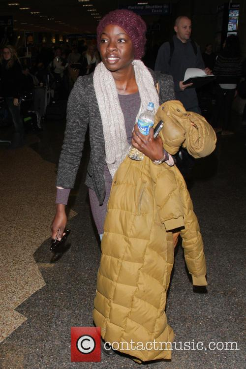 Celebrities arrive at Salt Lake City International Airport...