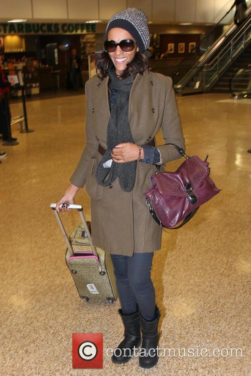 Celebrities arrive at Salt Lake City International Airport for the 2013 Sundance Film Festival