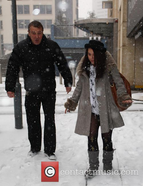 Phil Tufnell and Dani Harmer 4