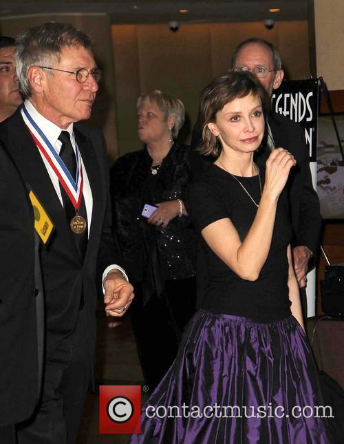 Harrison Ford and Calista Flockhart 1