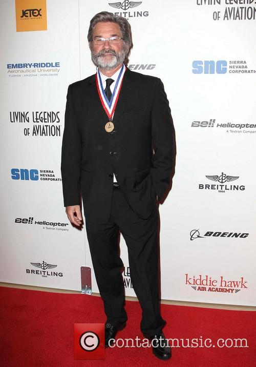 Kurt Russell at the Annual Living Legends Awards