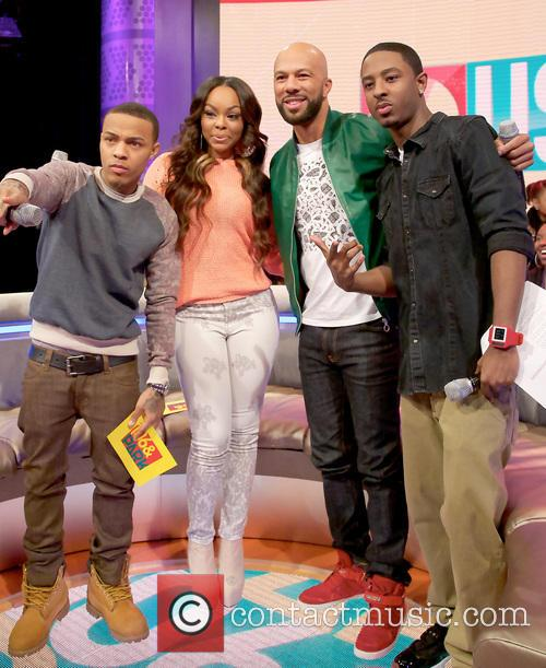 BET's 106 & Park recording at the CBS...