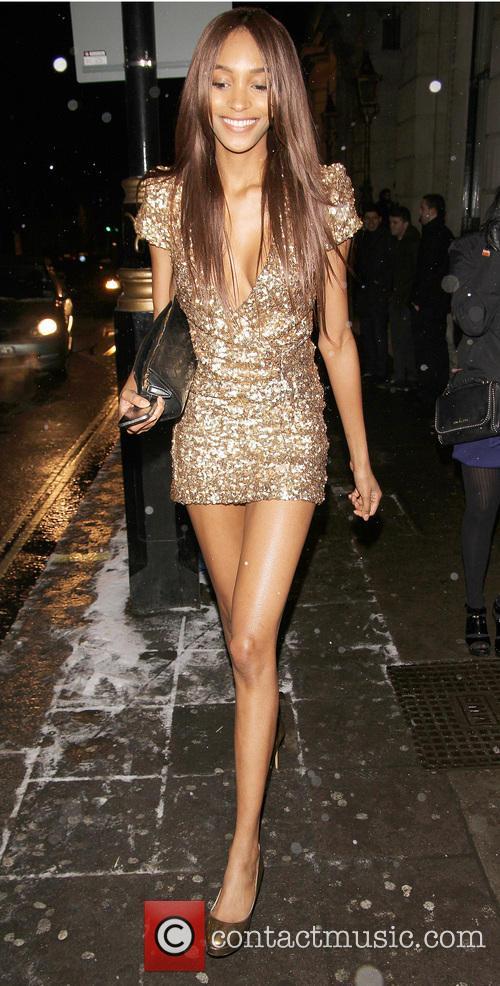 Celebrities attends Jourdan Dunn's leaving party in London