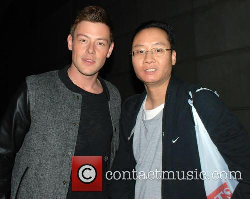 Cory Monteith and Fan 3