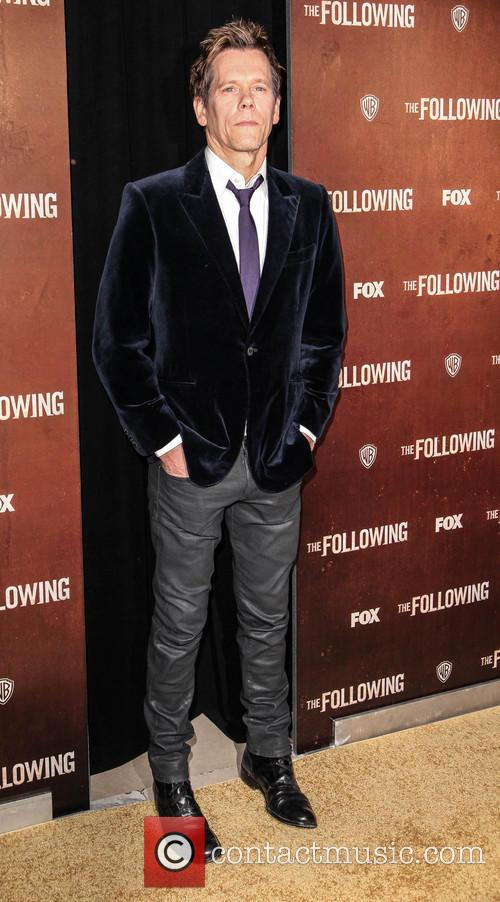 Kevin Bacon, The Following premiere
