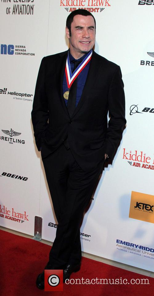 John Travolta at the Annual Living Legends awards
