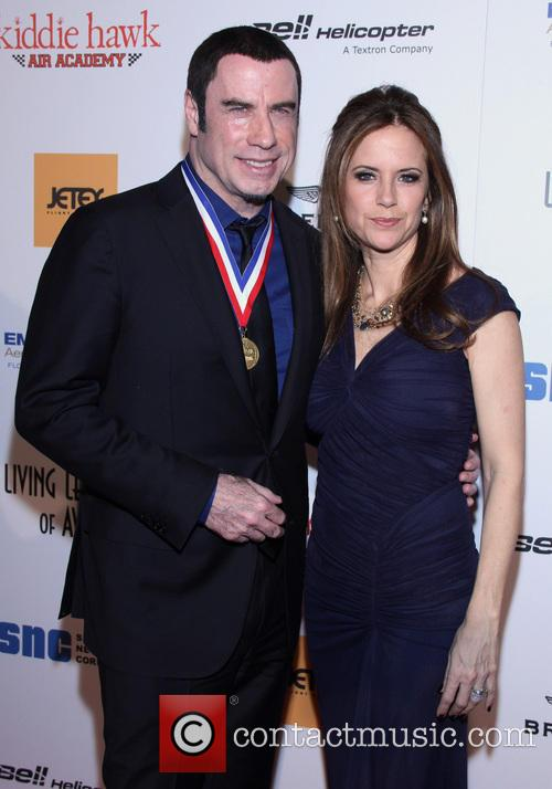 john travolta kelly preston 10th annual living legends of 3460025