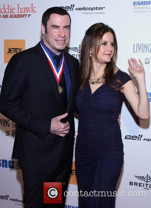 John Travolta and Kelly Preston 12