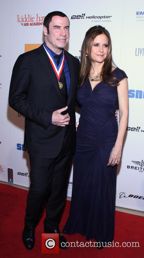 John Travolta and Kelly Preston 13