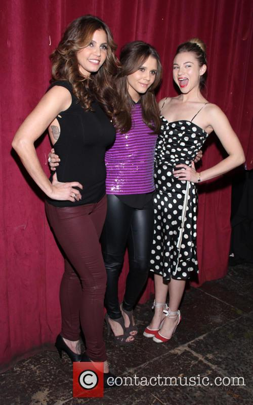 Charisma Carpenter, Alexandra Chando and Allie Gonim 2