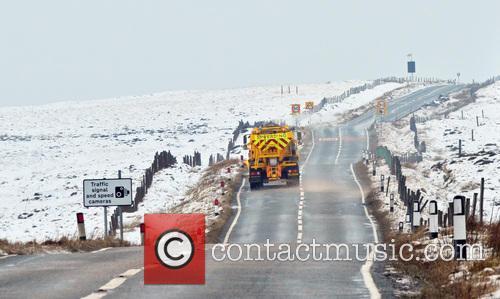Snow scenes across the UK