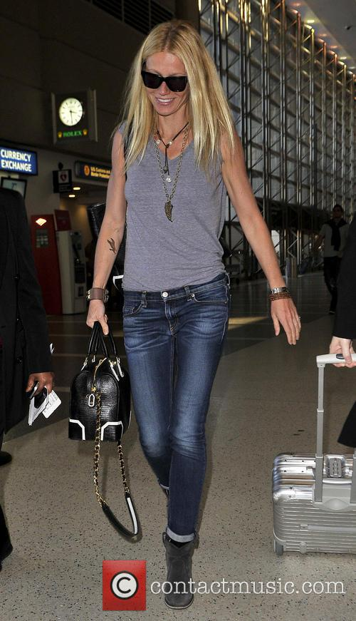 Gwyneth Paltrow LAX Los Angeles California United States