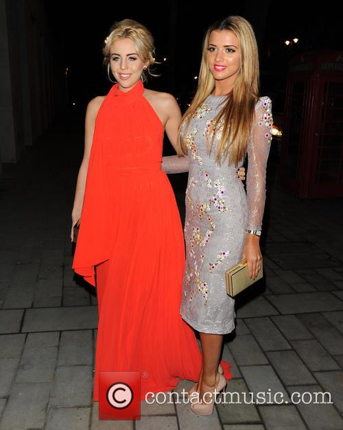 Lydia Rose Bright and Lucy Mecklenburgh 1
