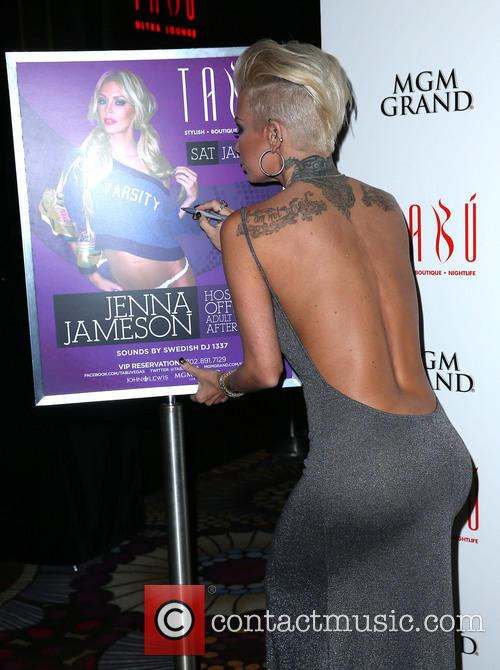 Jenna Jameson hosts the evening at Tabu Ultra Lounge, Las Vegas