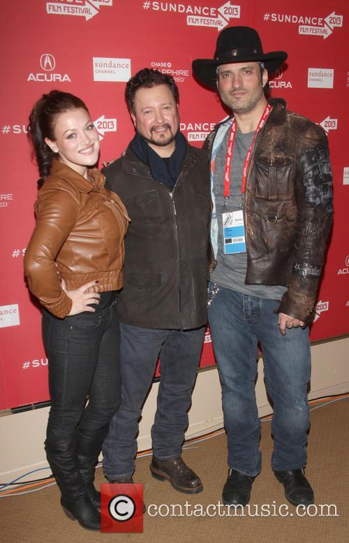 Gracie Rae, Carlos Gallardo and Robert Rodriguez 2