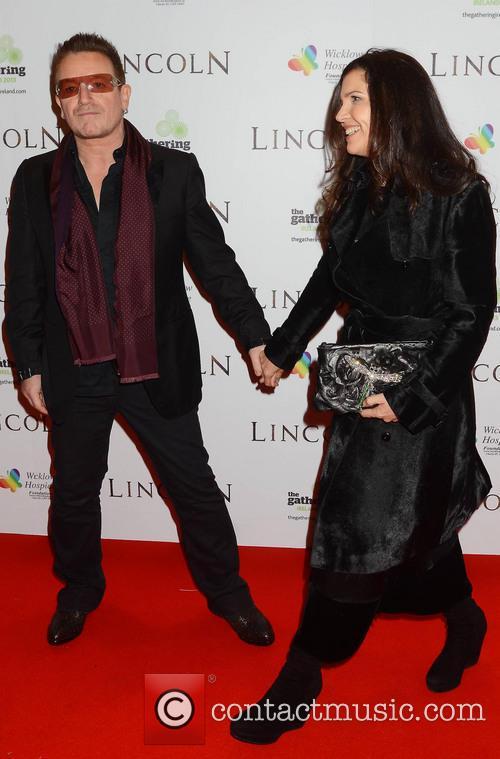 Bono and Ali Hewson 2