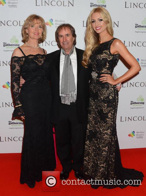 Chris De Burgh, Diane Davison and Rosanna Davison 4