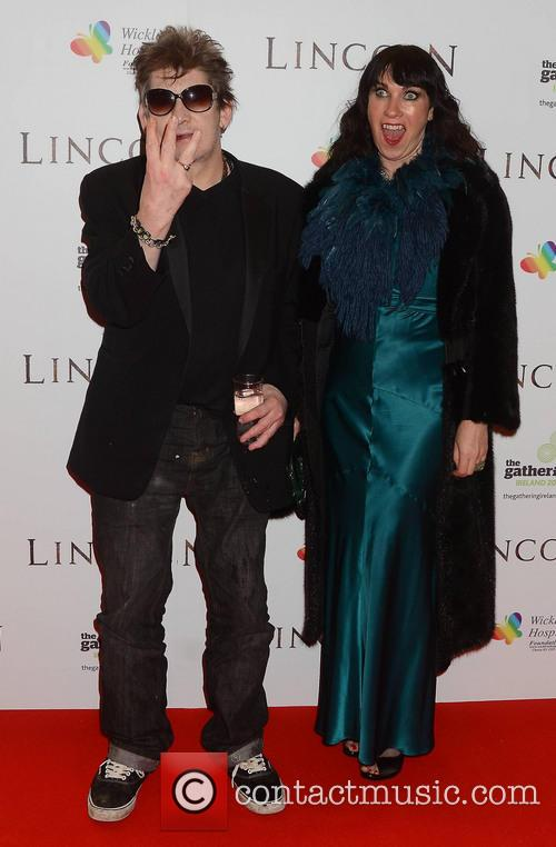 shane macgowan victoria mary clarke european premiere of 'lincoln' 3459908
