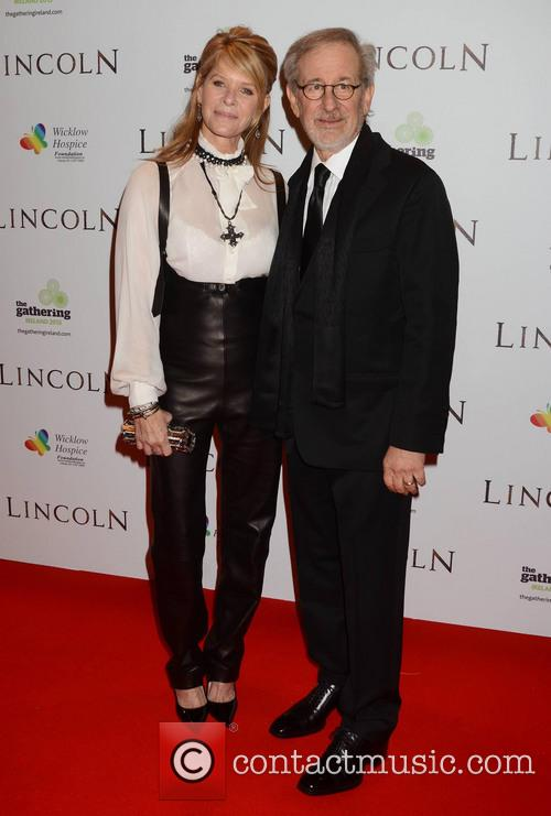 Steven Speilberg and Kate Capshaw 1