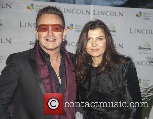 Bono and Ali Hewson 5