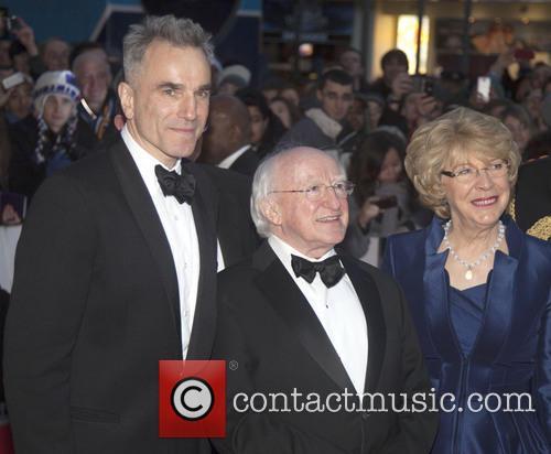 Daniel Day Lewis, Michael D Higgins and Sabina Coyle 8