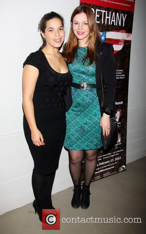 America Ferrera and Amber Tamblyn 6