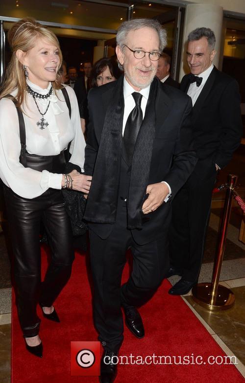 Steven Speilberg & Wife Kate Capshaw 3