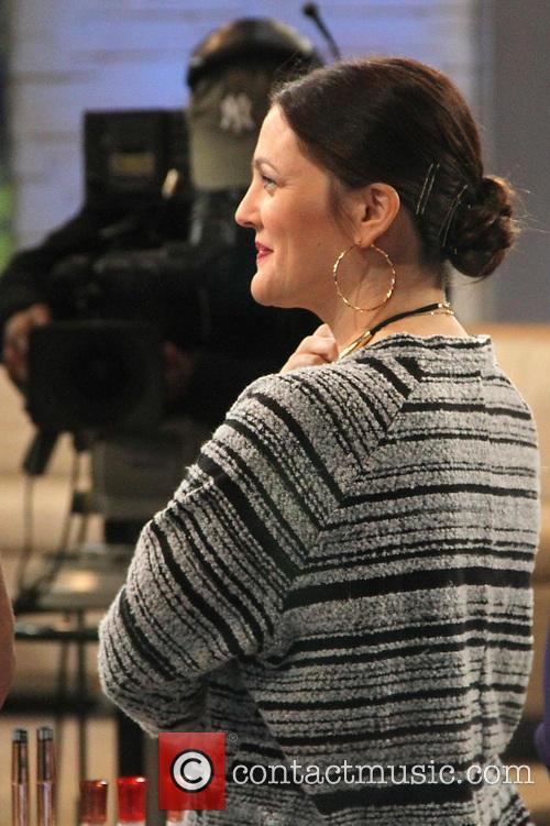 Drew Barrymore at the ABC studios