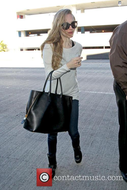 Celebrities arrive at LAX Airport
