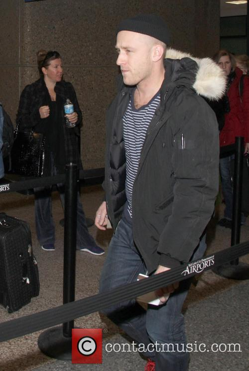 Celebrities arrive at Salt Lake City International Airport