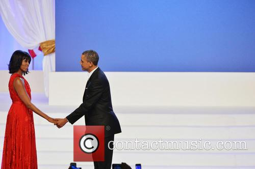 President Barack Obama, First Lady Michelle Obama, the Walter E. Washington Convention Center