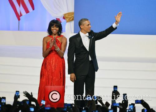 President Barack Obama and First Lady Michelle Obama 4