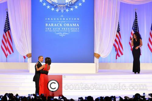 President Barack Obama and First Lady Michelle Obama 7