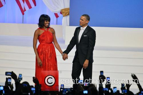 President Barack Obama and First Lady Michelle Obama 8