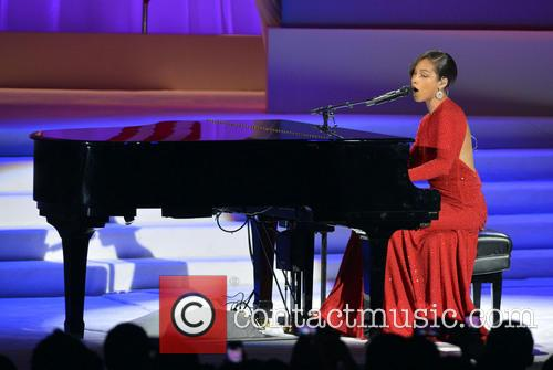 Alicia Keys, the Walter E. Washington Convention Center