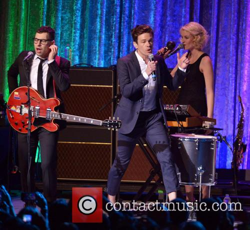 Nate Ruess, Andrew Dost, Jack Antonoff, the Walter E. Washington Convention Center