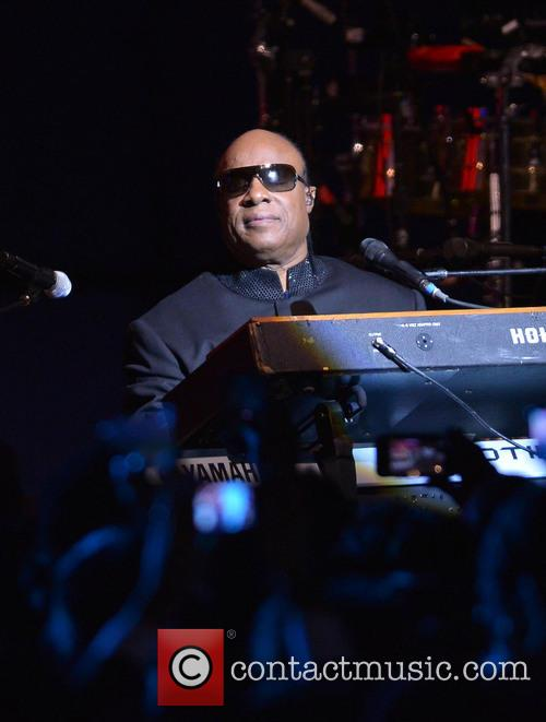 Stevie Wonder, the Walter E. Washington Convention Center