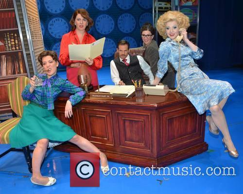 Natalie Casey, Jackie Clune, Ben Richards, Bonnie Langford and Amy Lennox 2