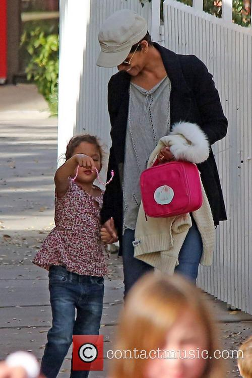 halle berry halle berry collects her daughter nahla 3462471
