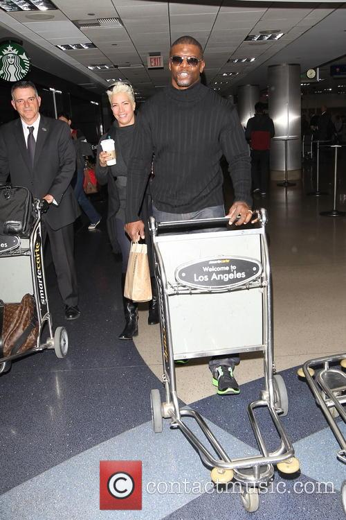 Celebrities arriving at LAX airport