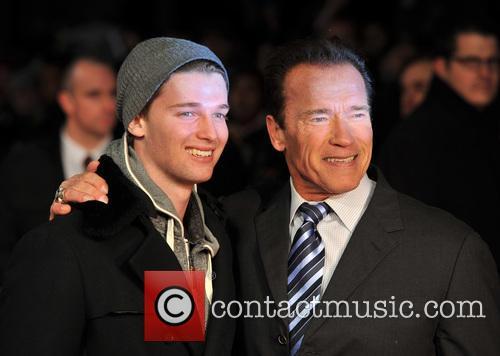 Arnold Schwarzenegger and Patrick Schwarzenegger 3