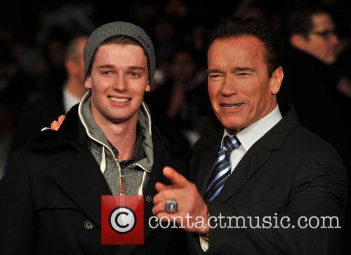 Arnold Schwarzenegger and Patrick Schwarzenegger 4
