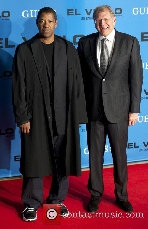 Denzel Washington and Robert Zemeckis 6