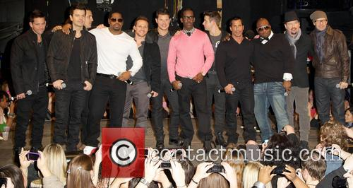 Boyz Ii Men, New Kids On The Block and 98 Degrees 7