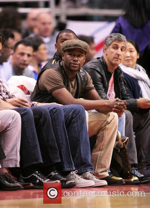 Celebrities watch Los Angeles Clippers vs. Oklahoma City...