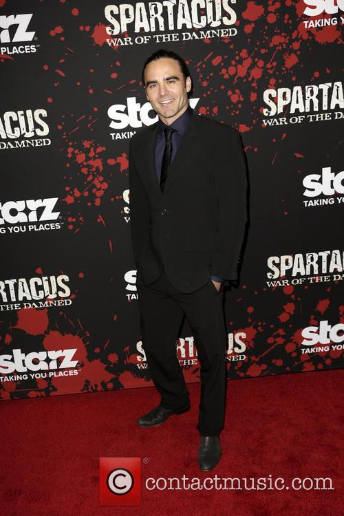 dustin clare premiere of 'spartacus war of the 3462900